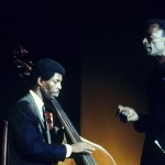 Miles Davis and Marshall Hawkins at the Greek Theater, Jazz 68